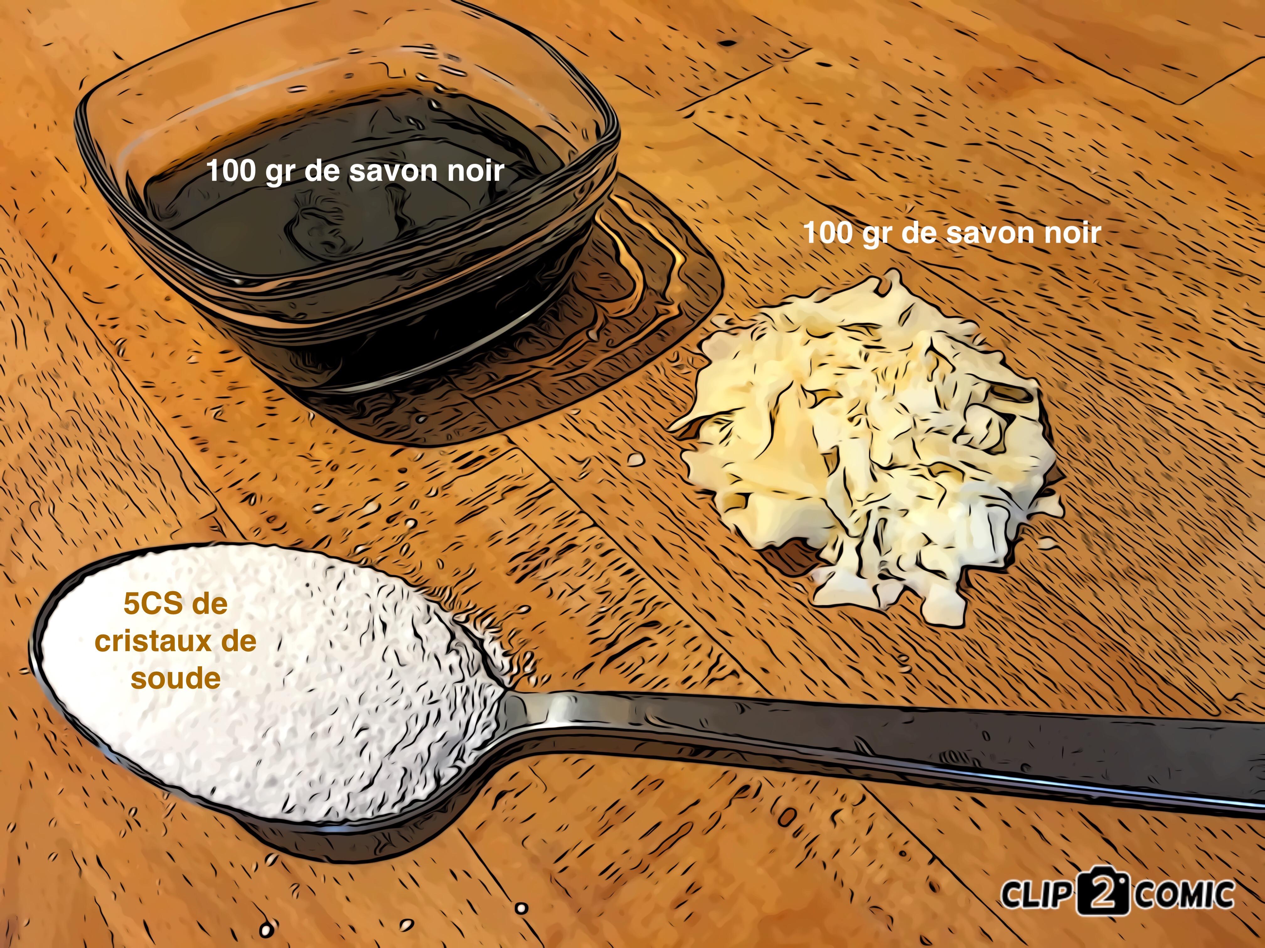 lessive recette